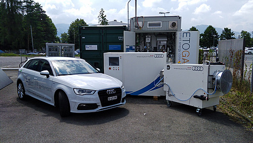 Power-to-Gas Anlage an der HSR